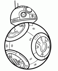 BB-8 the Poe Dameron droid