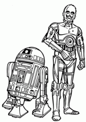 C-3PO and inseparable friend C1-P8