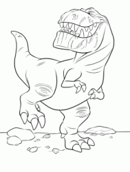 Butch the gigantic tyrantosaurus