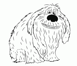 """""""The Secret Life of Pets"""" coloring pages"""