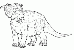 Juniper the Pachyrhinosaurus friend of Patchi