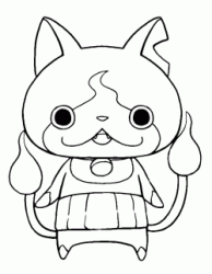 Jibanyan is the cat-type Yo-kai