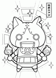 Robonyan the robot coming from the future